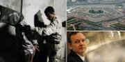 Irakisk soldat eskorterar en fånge under överinseende av amerikanska soldater, 2008/Assange, 2008/Pentagon. TT