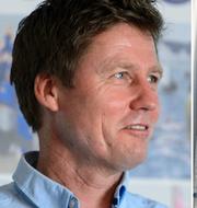 Stefan Rahm till vänster/Silverduon Anton Dahlberg och Fredrik Bergström till höger. Bildbyrån