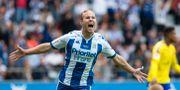 Engvall i IFK Göteborgs tröja 2016. Thomas Johansson/TT / TT NYHETSBYRÅN