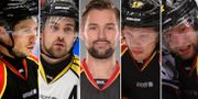 Elias Fälth, Lukas Kihlström, Johan Alcén, Ludvig Nilsson och Jonathan Granström. TT