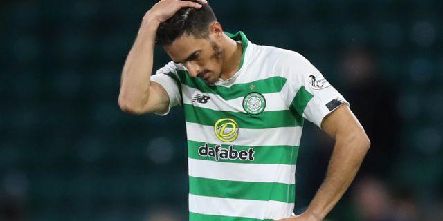 Celtics Hatem Elhamed deppar. CARL RECINE / TT NYHETSBYRÅN