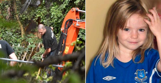 Polisen grävde nyligen upp en kolonilott där den mordmisstänkte tidigare bott.