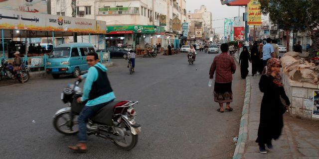 Hodeidah på tisdagen. - / AFP