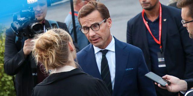 Ulf Kristersson (M).  Adam Ihse/TT / TT NYHETSBYRÅN