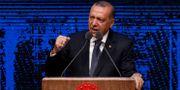 Turkiets president Recep Tayyip Erdogan. Burhan Ozbilici / TT NYHETSBYRÅN