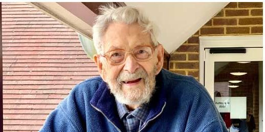 Bob Weighton blev 112 år. Guinness rekordbok