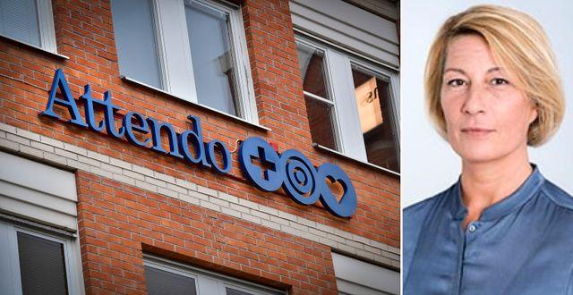 Roburs presschef Carina Sesser Nylund. Pressbild. TT/Swedbank.
