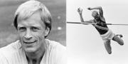 Hans Lagerqvist år 1987 och 1967. Bildbyrån