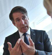 Richard Jomshof (SD). Stina Stjernkvist/TT / TT NYHETSBYRÅN
