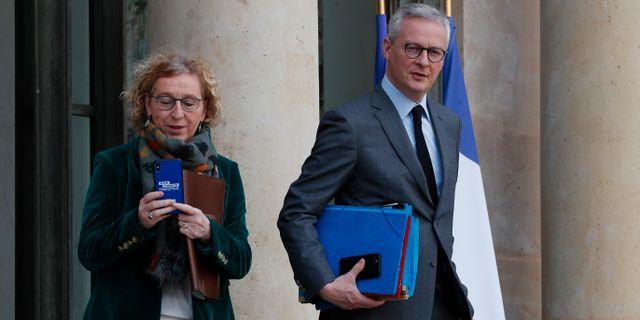 Frankrikes finansminister Bruno Le Maire. Arkivbild. Francois Mori / TT NYHETSBYRÅN