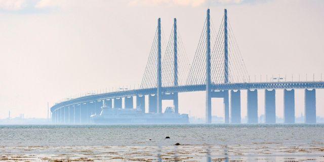 Öresundsbron. Arkivbild.  Johan Nilsson / TT / TT NYHETSBYRÅN