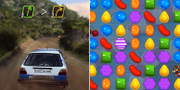 Dirt Rally 2.0/Candy Crush PRESS