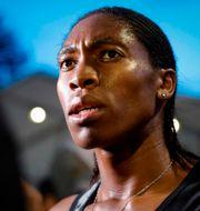 Caster Semenya. GEOFFROY VAN DER HASSELT / AFP