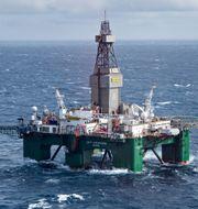 Oljeborrning i Norge.  Pressbild.