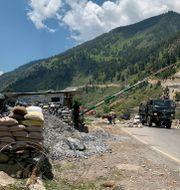 Indisk militär i Srinagar/Arkivbild.  TT NYHETSBYRÅN