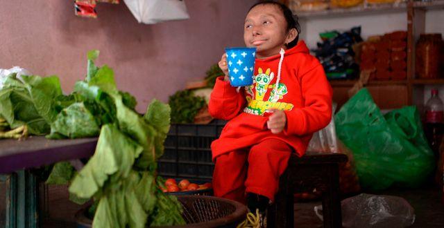 Khagendra Thapa Magar PRAKASH MATHEMA / AFP