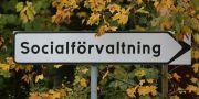 """Skylt med texten """"Socialförvaltning"""". Fredrik Sandberg / TT / TT NYHETSBYRÅN"""
