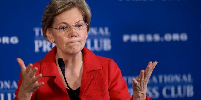Elizabeth Warren. Arkivbild. WIN MCNAMEE / GETTY IMAGES NORTH AMERICA