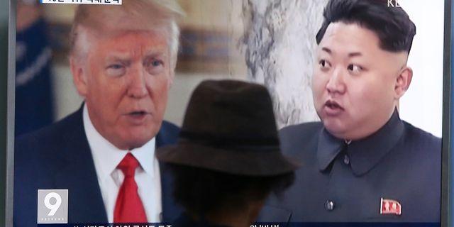 Donald Trump/Kim Jong-Un. Ahn Young-joon / TT / NTB Scanpix