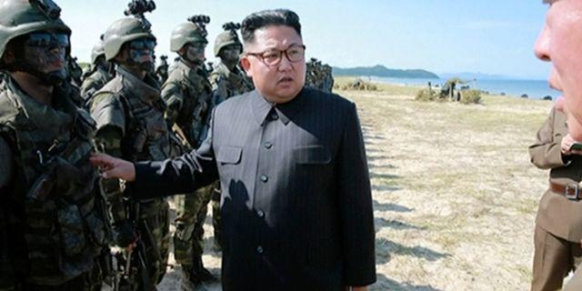 Simulerade bombning av nordkoreas ledarskikt