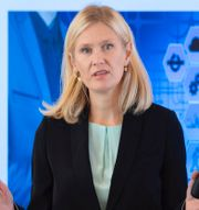 Unionens chefsekonom Katarina Lundahl. TT