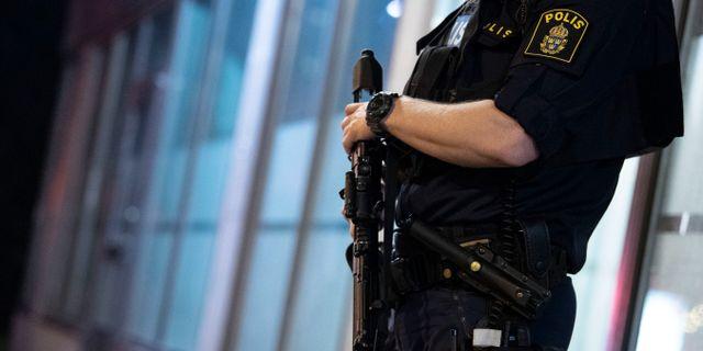 Polis. Arkivbild. Johan Nilsson/TT / TT NYHETSBYRÅN