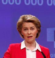 Arkivbild: EU-kommissionens ordförande Ursula von der Leyen.  FRANCOIS LENOIR / TT NYHETSBYRÅN