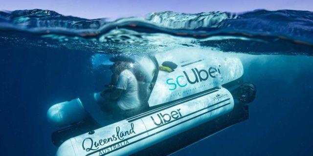 Ubåten bokas precis som vanligt via företagets app. Tourism and Events Queensland