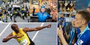 Bombdådet vid Boston Marathon, Hanna Öberg, Usain Bolt och Leicesters Jamie Vardy. TT/Bildbyrån