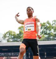 Juan Miguel Echevarría.  Christine Olsson/TT / TT NYHETSBYRÅN