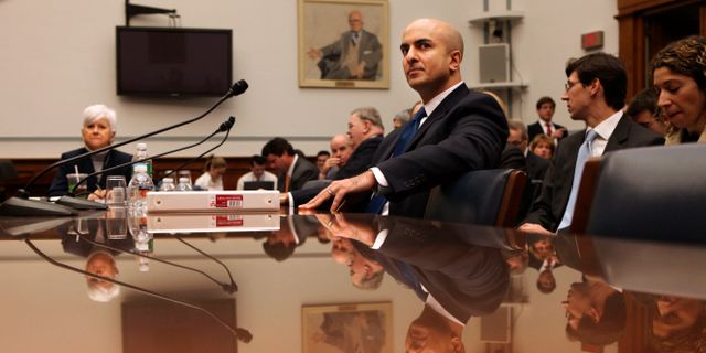 Neel Kashkari, chef över Federal Reserve i Minnesota. Pablo Martinez Monsivais / TT NYHETSBYRÅN/ NTB Scanpix