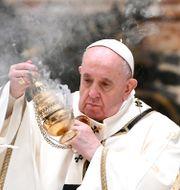 Påve Franciskus. Vincenzo Pinto / TT NYHETSBYRÅN