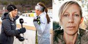 Intervju i SVT:s Vinterstudion-sändning / Forskaren Hanna Söderlund.  TT/Umeå universitet