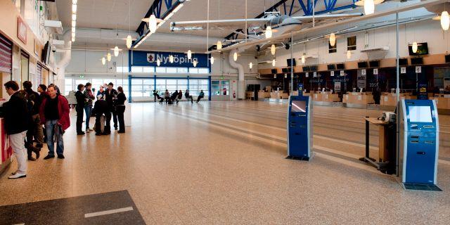 Männen greps på Skavsta flygplats. PONTUS LUNDAHL / TT / TT NYHETSBYRÅN