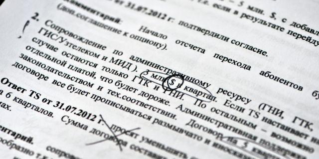 Januari  Telia bekräftar mutskandal d4fb4901385f1