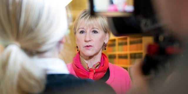 Margot Wallström. Henrik Montgomery/TT / TT NYHETSBYRÅN