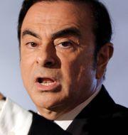 Carlos Ghosn, styrelseordförande i Renault-Nissan-Mitsubishi och vd i Renauld. Christophe Ena / TT NYHETSBYRÅN