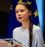 Greta Thunberg Olivier Matthys / TT NYHETSBYRÅN