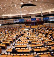 EU-parlamentet. Francisco Seco / TT NYHETSBYRÅN
