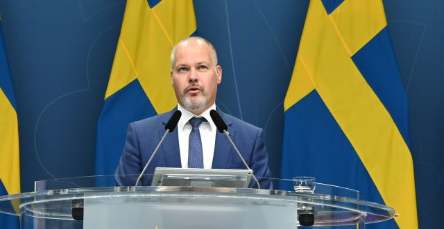 Justitie- och migrationsminister Morgan Johansson  Anders Wiklund/TT / TT NYHETSBYRÅN