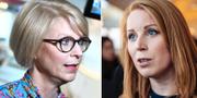 Elisabeth Svantesson och Annie Lööf  TT