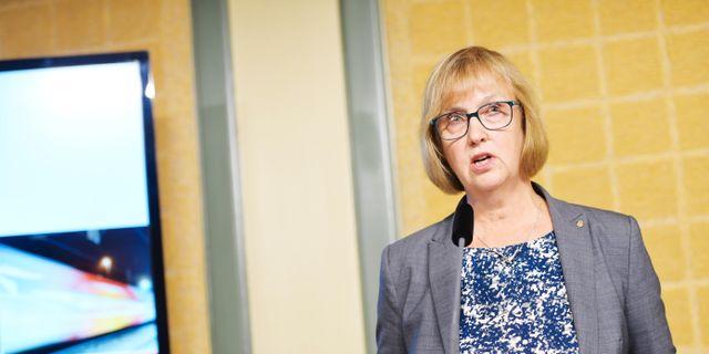 Lena Erixon, generaldirektör Trafikverket. Henrik Montgomery/TT / TT NYHETSBYRÅN