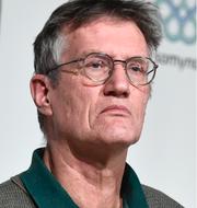 Anders Tegnell, covidavdelning på iva TT