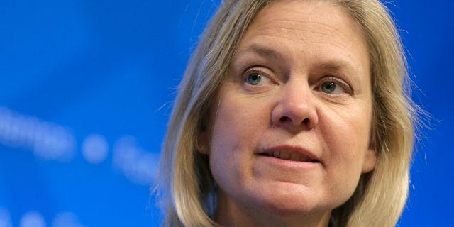 Sveriges finansminister Magdalena Andersson Joshua Roberts / TT NYHETSBYRÅN