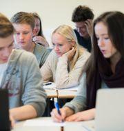 Elever på en skola i Oslo. Roald, Berit / TT NYHETSBYRÅN