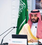 Saudiska kronprisen Mohammed bin Salman TT