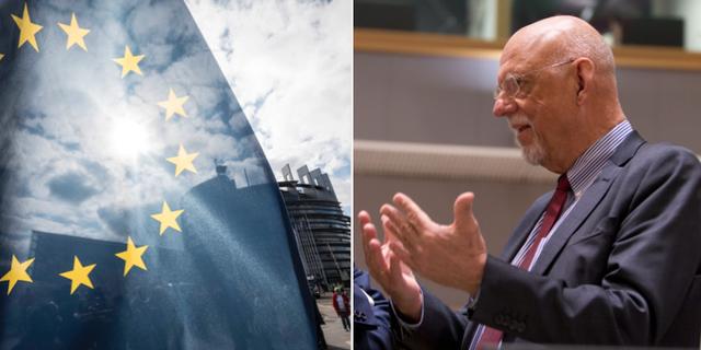 EU-minister Hans Dahlgren (S). Arkivbilder. TT