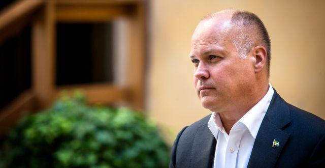 Justitieminister Morgan Johansson (S).  Magnus Andersson/TT / TT NYHETSBYRÅN