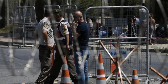 Turkiska poliser. Arkivbild.  TT.