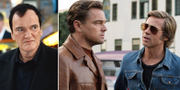 "Quentin Tarantino/Leonardo DiCaprio och Brad Pitt i ""Once upon a time in Hollywood"" TT/PRESS"
